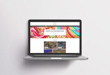 Sweet Traditions, Website Design Edmondson's IT